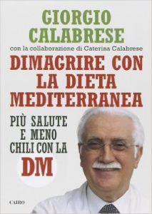 Book Cover: Dimagrire con la dieta mediterranea