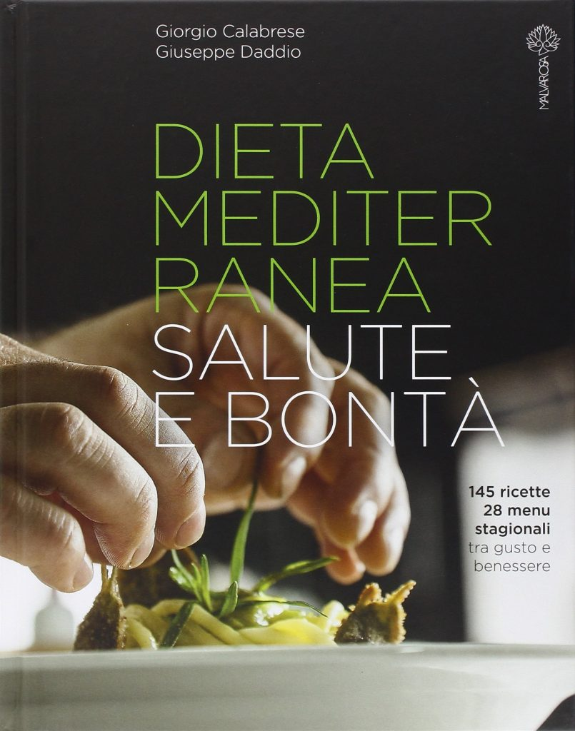 Book Cover: Dieta Mediterranea. Salute e bontà